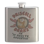 Retro Advertising Flask