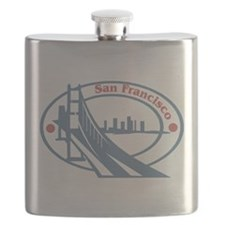 Retro San Francisco Flask