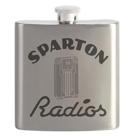 Sparton Radios Flask