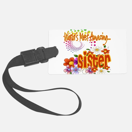 Amazing sister copy.png Luggage Tag