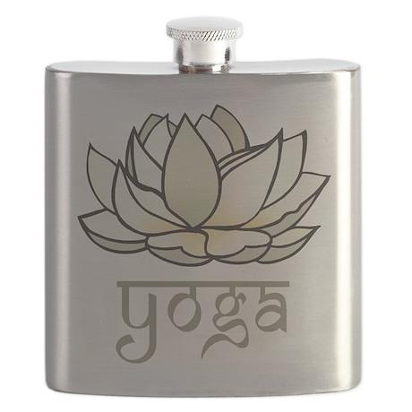 Lotus Yoga Flask