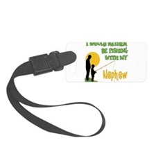 Fishing With Nephew.png Luggage Tag