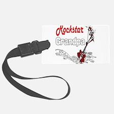 Rockstar Grandpa copy.png Luggage Tag