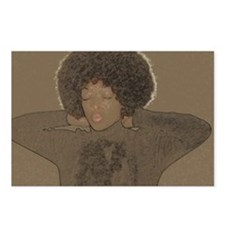 Cute Afro Postcards (Package of 8)