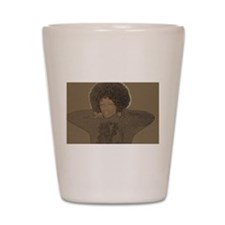 Cute Afro Shot Glass