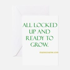 All ready to grown Greeting Card