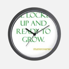 All ready to grown Wall Clock