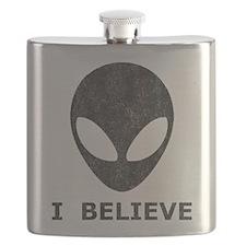 Vintage Alien (I Believe) Flask