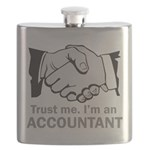 Trust Me. I'm an accountant Flask