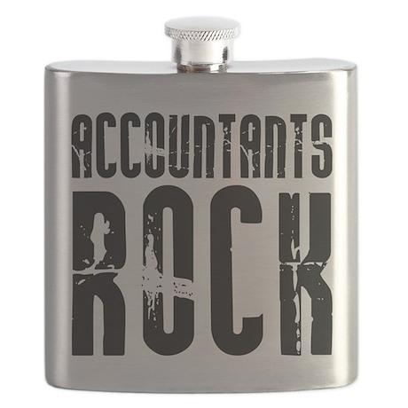 Accountants Rock Flask