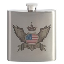 American Actor Flask