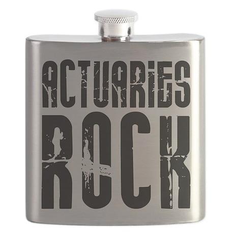 Actuaries Rock Flask