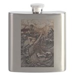 Mermaid Art Flask
