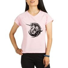 Unicorn Tattoo Performance Dry T-Shirt