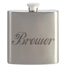 Vintage Brewer Flask