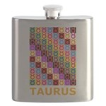Pop Art Taurus Flask
