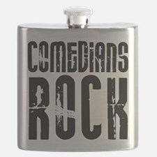 Comedians Rock Flask