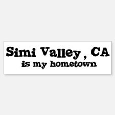 Simi Valley - hometown Bumper Bumper Bumper Sticker