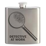 Detective Flask Bottles