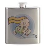 Cute Aquarius Flask
