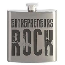 Entrepreneurs Rock Flask