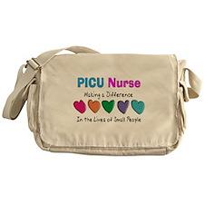 PICU Nurse.PNG Messenger Bag