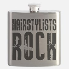 Hairstylists Rock Flask