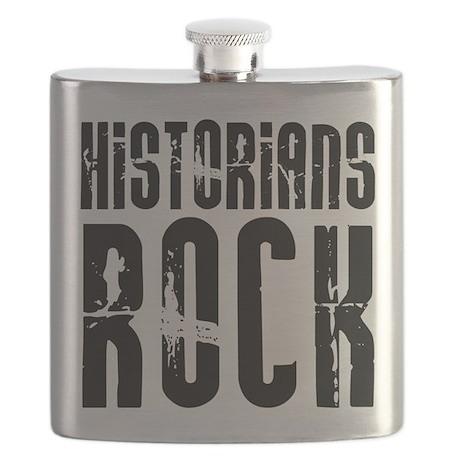 Historians Rock Flask