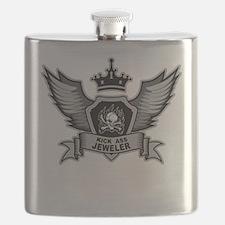 Kick Ass Jeweler Flask