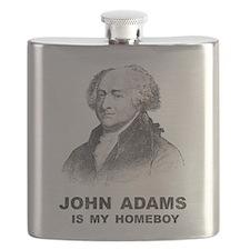 John Adams Is My Homeboy Flask
