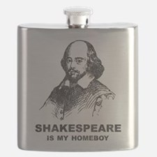 Shakespeare Is My Homeboy Flask