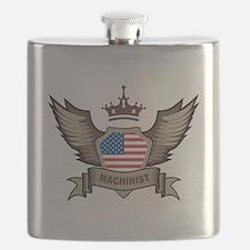 American Machinist Flask
