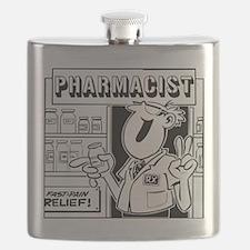 Retro Pharmacist Flask