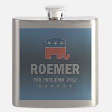 Buddy Roemer For President Flask