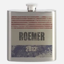 Buddy Roemer 2012 Flask