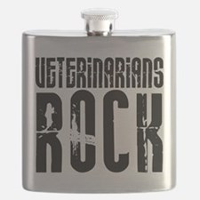 Veterinarians Rock Flask