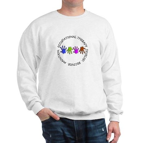 OT CIRCLE Hands.PNG Sweatshirt
