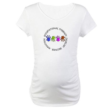 OT CIRCLE Hands.PNG Maternity T-Shirt