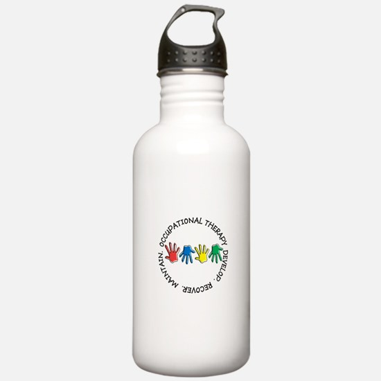 OT CIRCLE HANDS 2.PNG Water Bottle