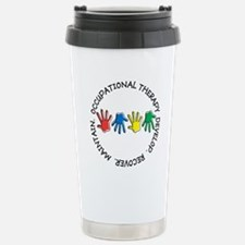 OT CIRCLE HANDS 2.PNG Stainless Steel Travel Mug