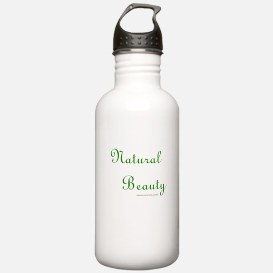 Funny Black natural hair Water Bottle