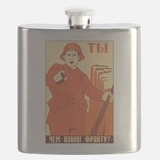 Red Army Flask
