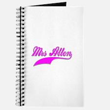 Mrs Allen Journal