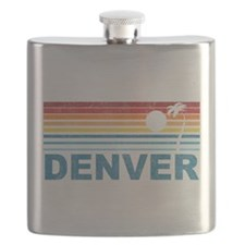 Palm Tree Denver Flask