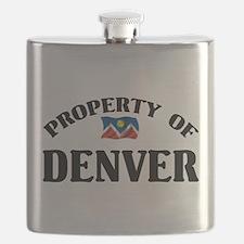 Property Of Denver Flask