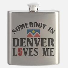 Somebody In Denver Flask