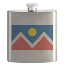 Denver Flag Flask