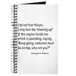 I Do Not Fear Failure Journal