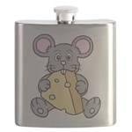 Mouse & Cheese Flask