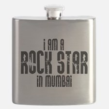 Rock Star In Mumbai Flask